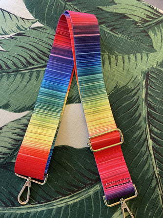 Multi Stripe Guitar Strap