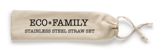 Steel Straw Eco Family