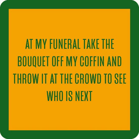 Coaster: Funeral Bouquet
