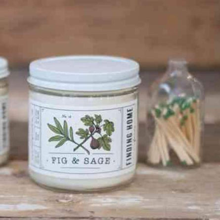 Fig and Sage Soy Candle 13oz