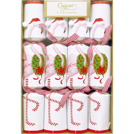 Santa Flamingo Christmas Crackers