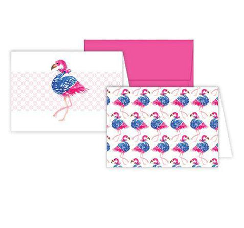 Flamingo Stationery Notecards