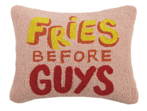 Fries Before Guys Hook Pillow