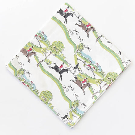 Equestrian Napkins (Set of 4)