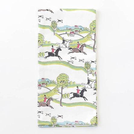 Equestrian Cotton Tea Towel (S/2)