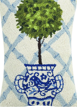 Topiary Hook Pillow