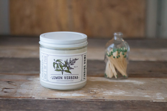 FH Lemon Verbena 13oz Soy Candle