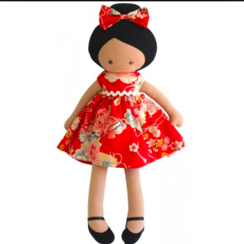 Large Maggie Doll Red