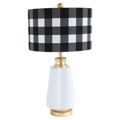 Buffalo Check Lamp