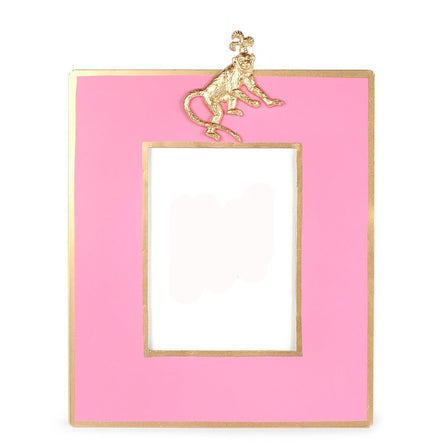 Regency Monkey Pink  Frame 5x7