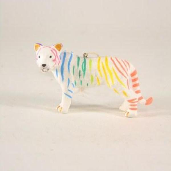 Mystic Striped Tiger Ornament