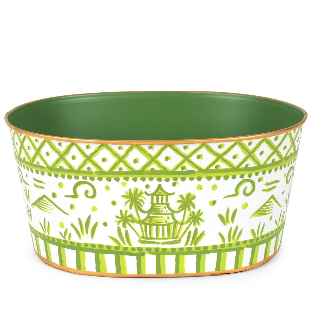 Tom Tom Pagoda Green Tub