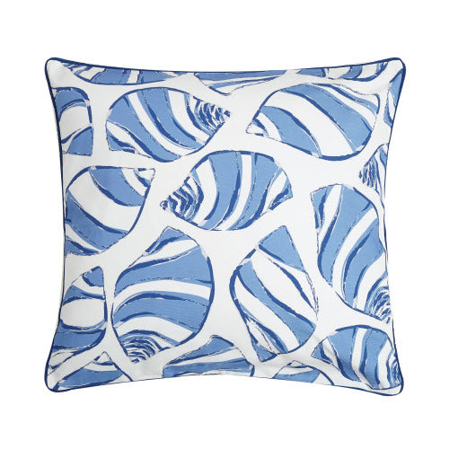 Periwinkle Shell Pillow 20 X 20""