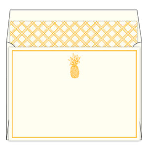 Pineapple Social Stationery Set