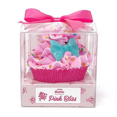 Pink Bliss Cupcake Bath Bomb