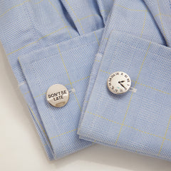 Cuff Links Dont Be Late