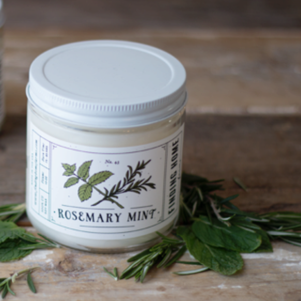 Rosemary Mint Soy Candle 13oz