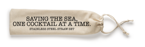 Steel Straw Saving the Sea