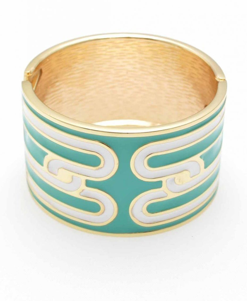 Waylande Cuff In Turquoise