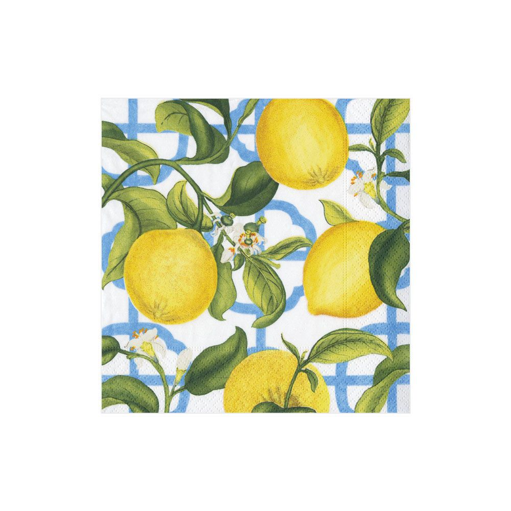 Seville Lemon Cocktail Napkin