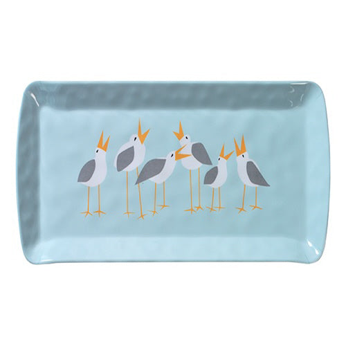 "Seagull 15"" Rectangle Loaf Tray Melamine"