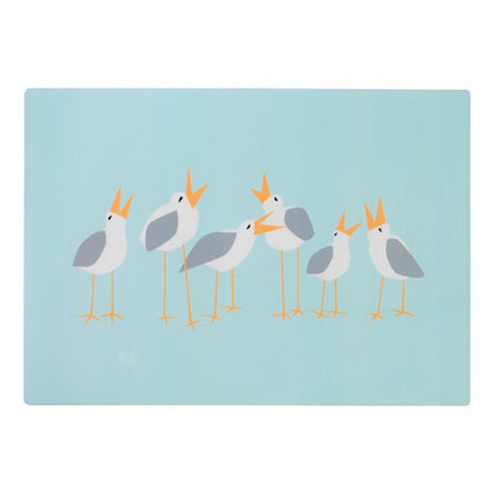 "Seagull  Vinyl Placemat 17""x11"""