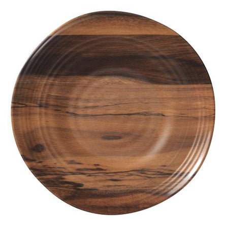 Acacia Round 10 in. Melamine Dinner Plate
