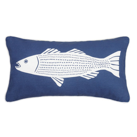 Striper Lumbar Pillow