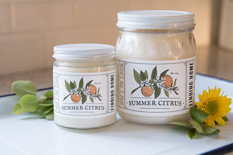 FH Summer Citrus 7.5 Oz Soy Candle