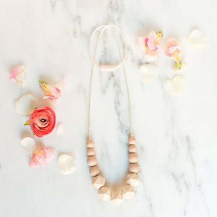 Teething Necklace in Classic Ivory