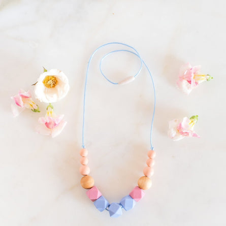 Teething Necklace in Fruit Punch