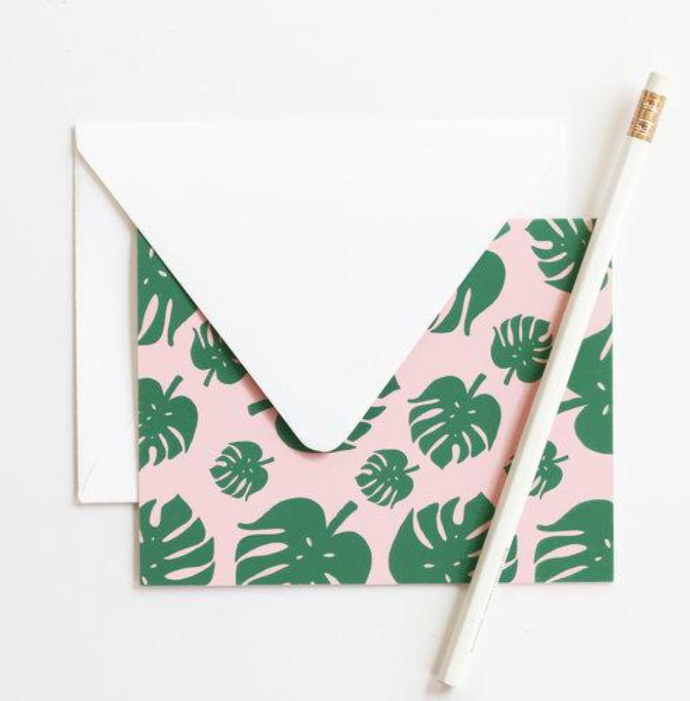 Tropical Note Card Set