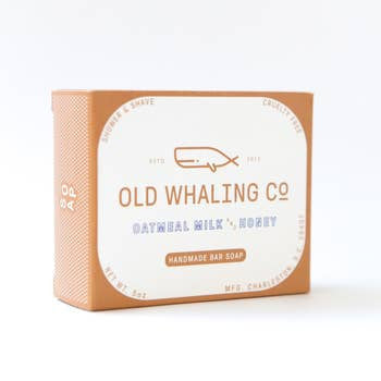 Old Whaling Oatmeal Milk + Honey Soap