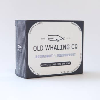 Old Whaling Bergamot + Grapefruit Soap