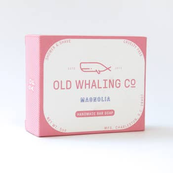 Old Whaling Magnolia Soap