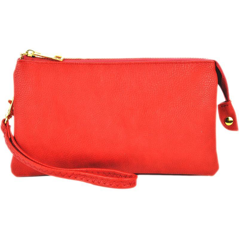 Newbury Crossbody  Red Clutch