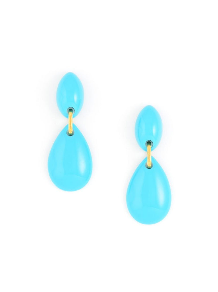 Vintage Turquoise Drop Earring
