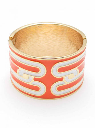 Waylande Cuff In Orange