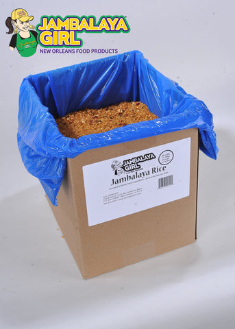Food Service Jambalaya Seasoned Rice Blend, 25 lb. box