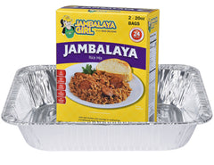 "Jambalaya Girl Jambalaya Rice Mix, 20 oz ""Party Size"" (2-20 oz Bags in 1 Box)"