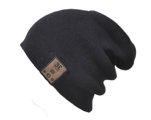 24/7 Tall Fit Ink Black Bluetooth Beanie Shell