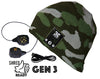 Justright CAMO Bluetooth Beanies with Be-Link system