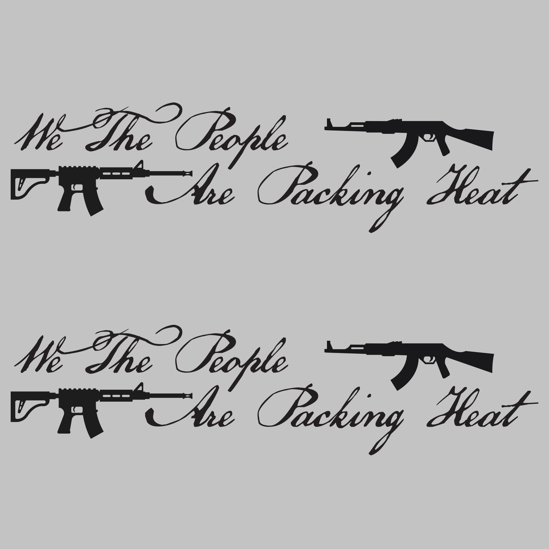We The People two pack