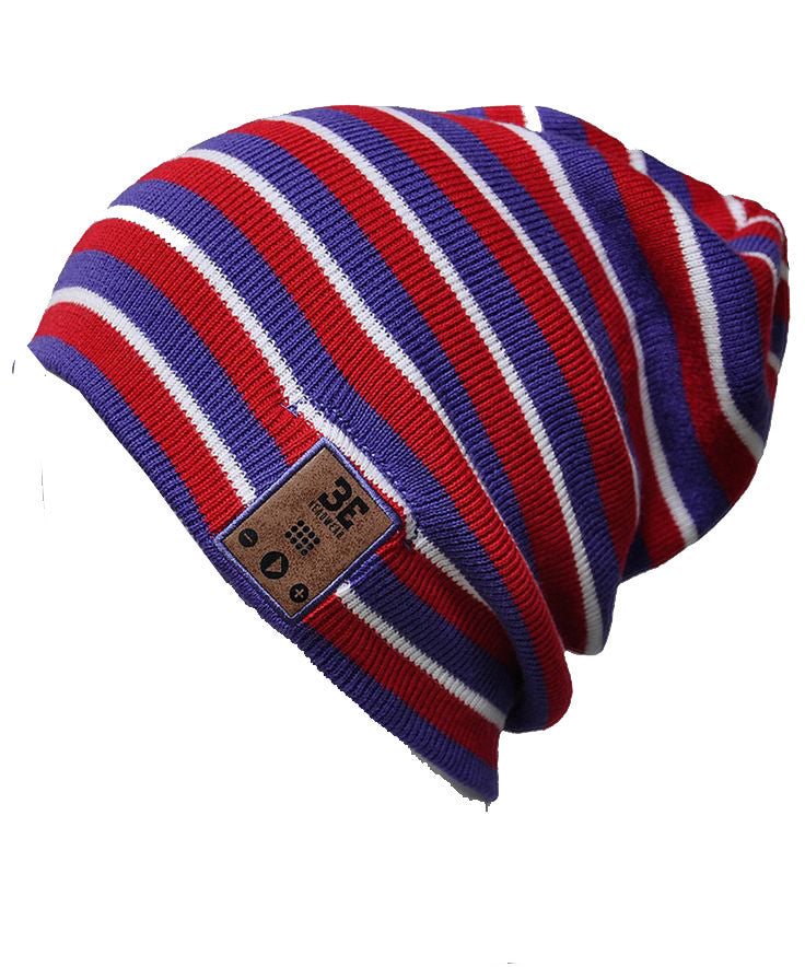 24/7 Tall Fit Tri-Stripe Bluetooth Beanie Shell