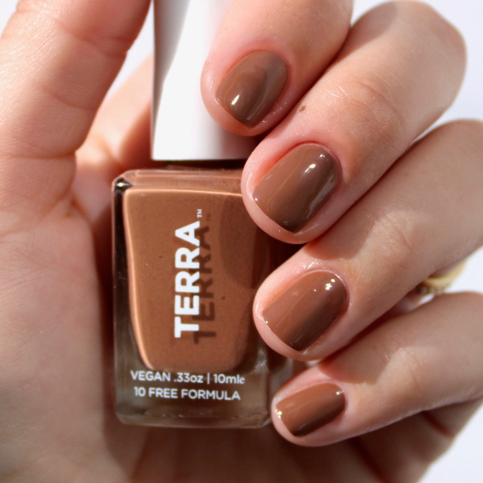 Terra Nail Polish No. 13 Dark Tan
