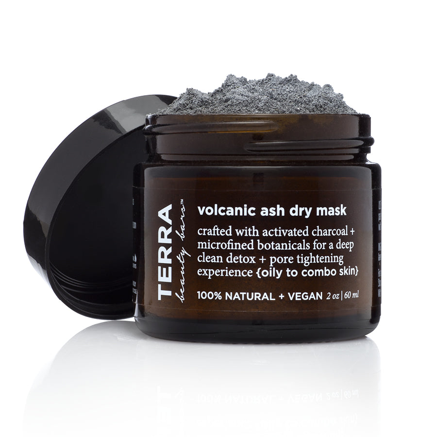 Volcanic Ash Dry Mask (Vegan, Waterless) - Terra Beauty Bars