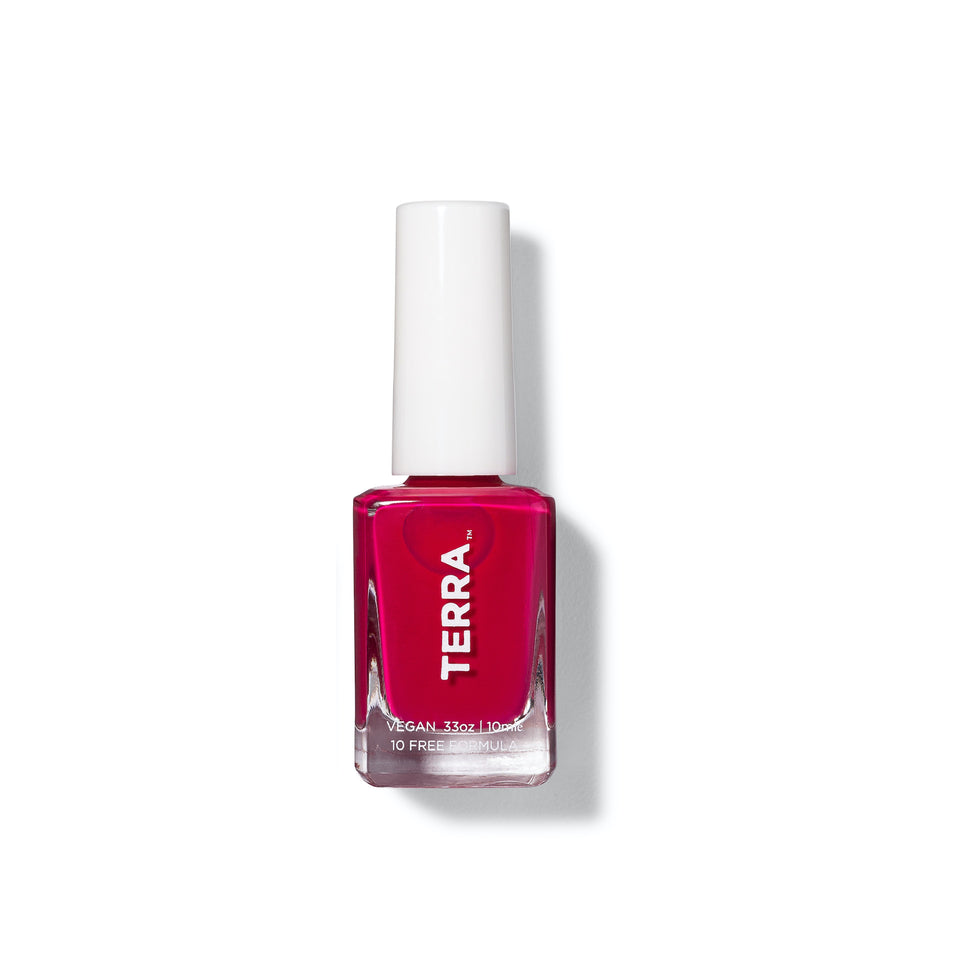 Terra Nail Polish No. 4 Bright Cranberry
