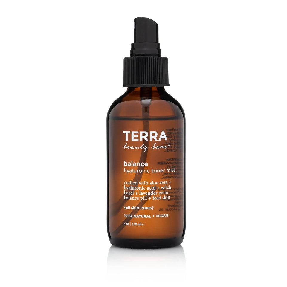 Balance Hyaluronic Acid Toner Mist - Terra Beauty Bars