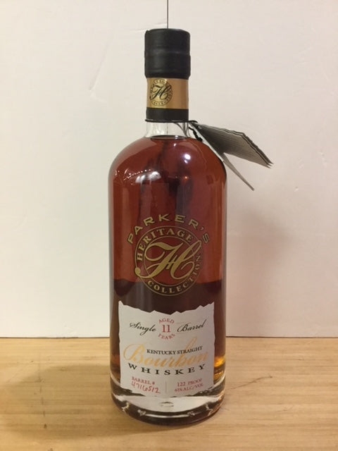 Parker's Heritage Collection Kentucky Straight Bourbon Whiskey 11 year old