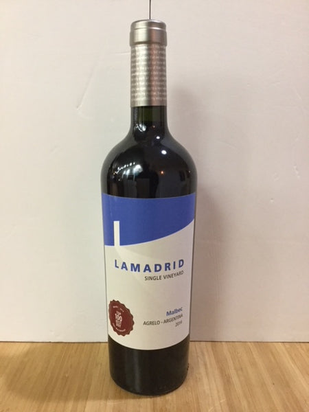 2016 Lamadrid Malbec Single Vineyard